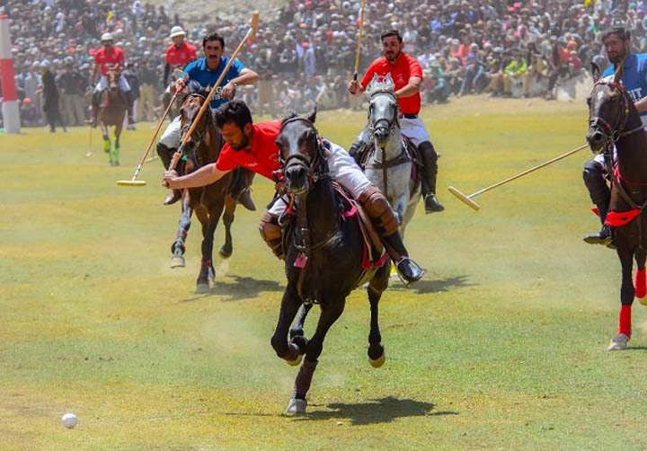 The evolution of polo at Shandur