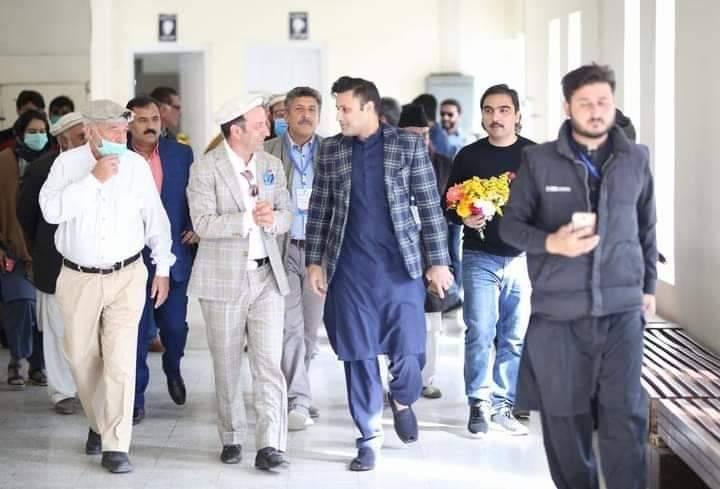 Zulfi Bukhari opens work on five star hotel in Chitral