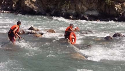 Third woman jumps into river in three days