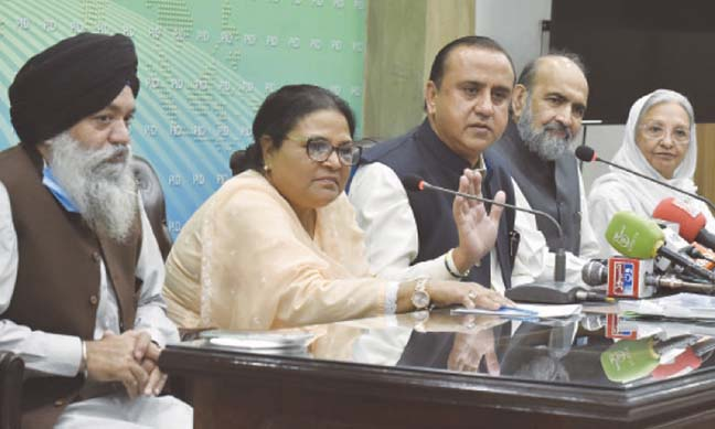 Draft law against forced conversion finalized
