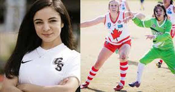Chitrali woman footballer makes history