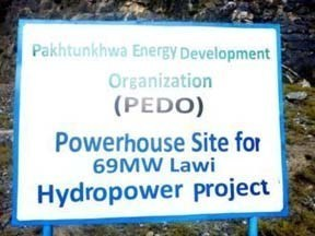 power projects of PEDO far from compeltion