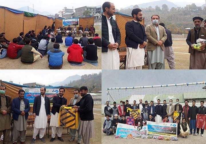 Football kits distributed among youth of Drosh