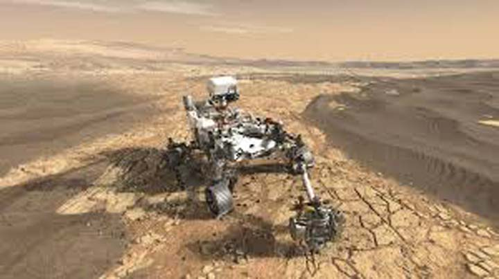 Nasa's Perseverance rover is bearing down on Mars