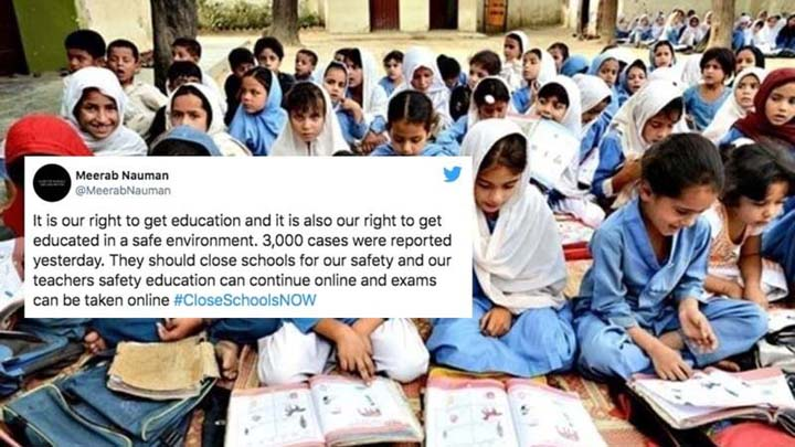 Students resent govt decision to reopen schools