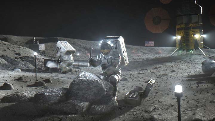 Biden administration backs US Moon shot