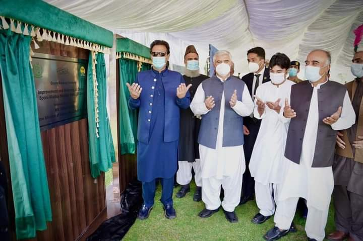 PM opens project to widen Chitral-Gilgit road