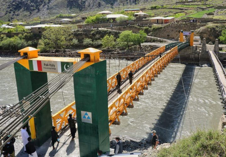 Pak-Italy friendship bridge opened