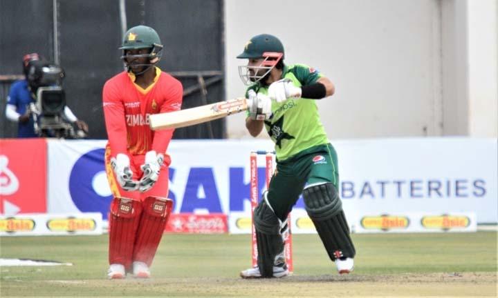 Pakistan beat Zimbabwe to clinch T20 series