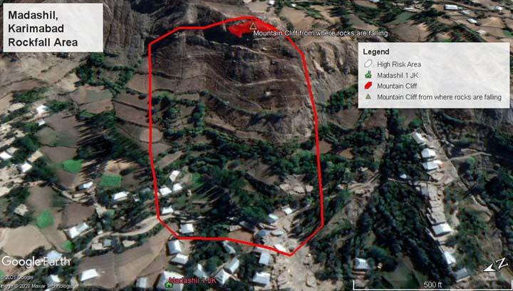 Residents of village hit by rockfalls seek protection