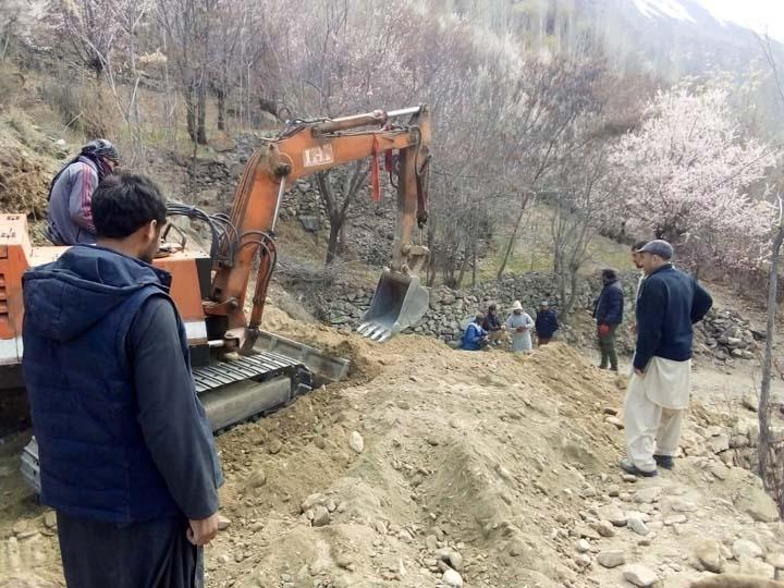 Work on Sonoghu-Meragram road begins