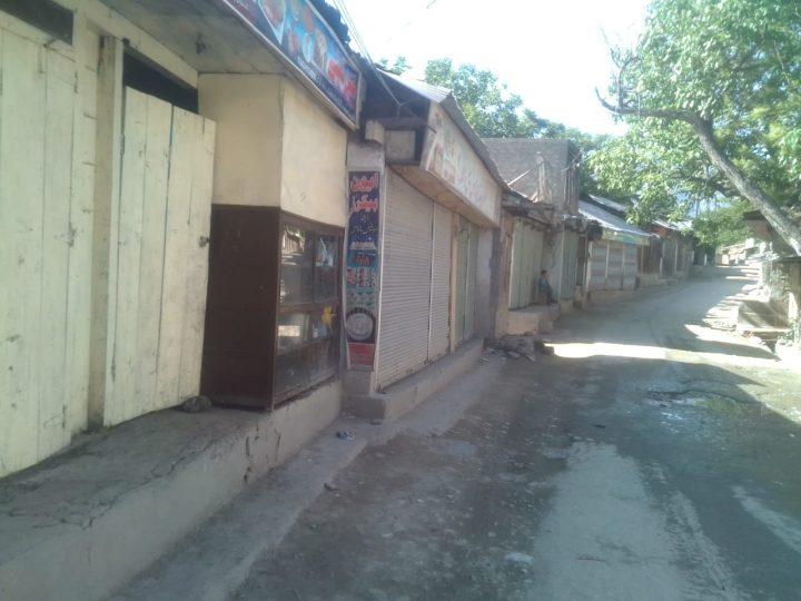 چترال بھر میں تمام کاروباری مراکز بند، تاجر پریشان