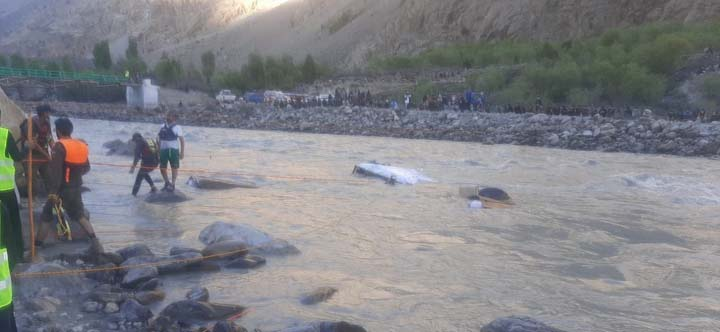 Three bodies of accident victims recovered