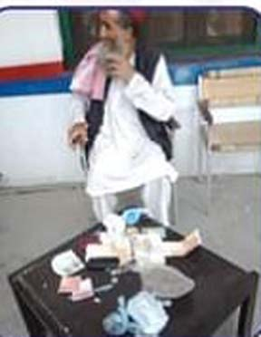 Old man held with fake currency notes