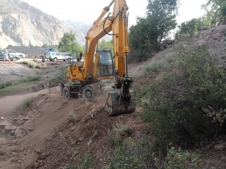Work on alternative road to Upper Chitral begins