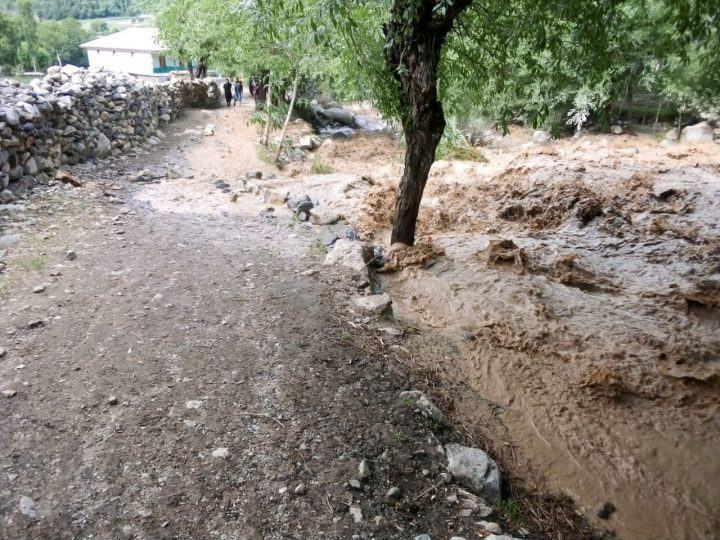 Flood damages three bridges in Bizin Gol