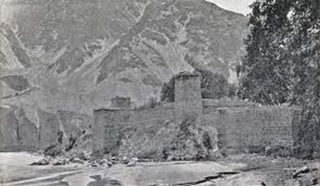 Defence system of Chitral in the past