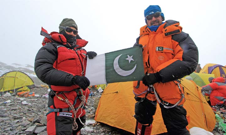 Samina Baig off to scale K2