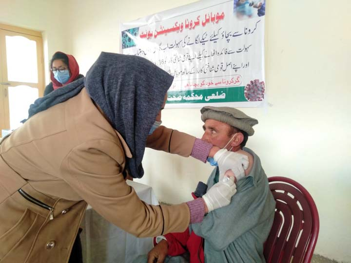 AKHSP vaccinates entire eligible population of Broghil