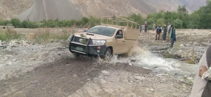 Traffic on Yarkhun road restored at Brep